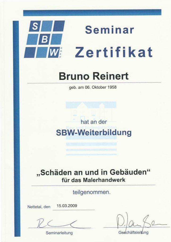 SBW Reinert