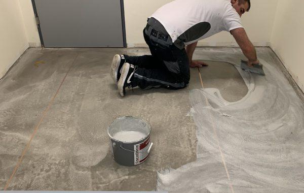 Industrieboden- ableitfähig, hygiene