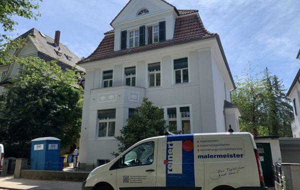 Gründerzeithaus Fassade Villenviertel